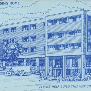 1982 rendering of chelsea jewish nursing home