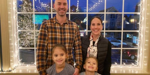 LFCL Executive Director, Michael McCarthy and his family
